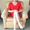 Denise55 - red dress   Tranny Ladies - connecting transgender ladies, partners, admirers & friends worldwide!